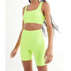 NWT Urban Outfitters | Motel neon two piece set